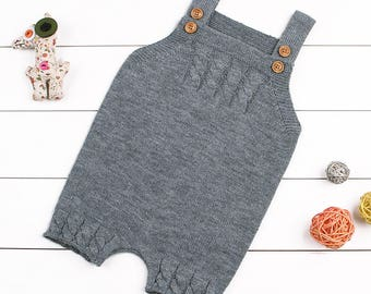 Kuzzy Design Baby Romper,Newborn/3/6/9/12 Months Baby romper,Knitted Baby Romper,Baby Knitted Romper