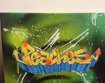 Graffiti my name!