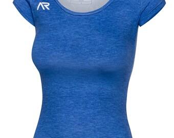 REBEL GIRL STAR  T-shirt