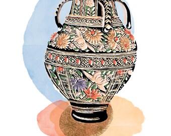 Wonderland Art Pottery Vase