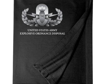 Explosive Ordinance Disposal -EOD Embroidered Blanket-7691