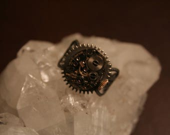 Watch gear adjustable ring