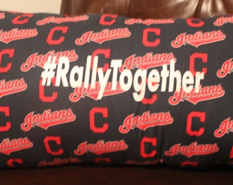 Cleveland Indians #RallyTogether Pillow