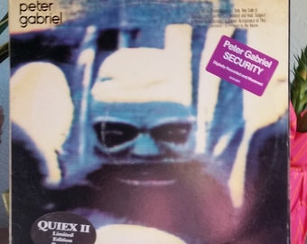 Peter Gabriel (LIMITED Vinyl) - Security LP (ORIGINAL '82/Shock The Monkey/Lay Your Hands On Me)