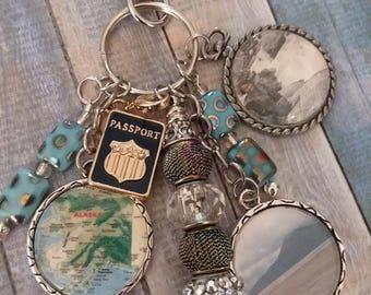 Traveler's Delight! Customized key chain
