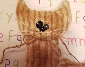"""Grungy Pet Pal """"Whiskers"""" a Rag Doll made with love"""