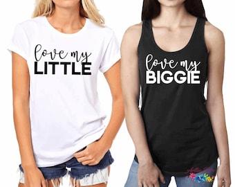 Big Little Shirt, Sorority reunion, Big Little Gift, Little Gift Shirts, Big Gift Shirts, Group Tank Tops, Custom Bachelorette, S3
