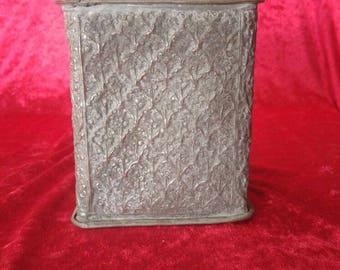 Vintage Antique Copper Jar/Urn With Unique Design #1214