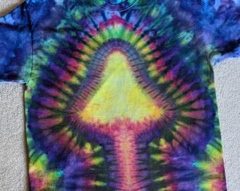XL Tie Dye Mushroom T-Shirt