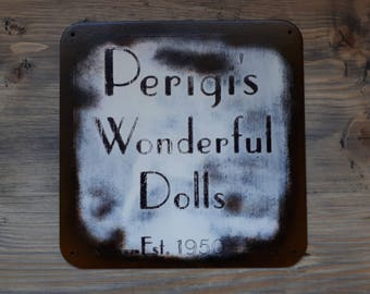 Perigi's Wonderful Dolls - Old Time Radio SciFi Inspired wall hanger - (Text Version)