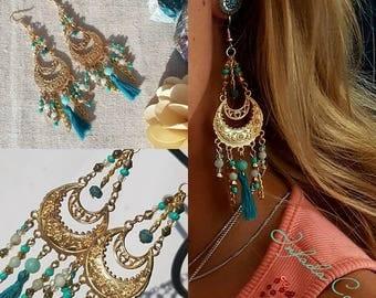 Earrings summer beauty