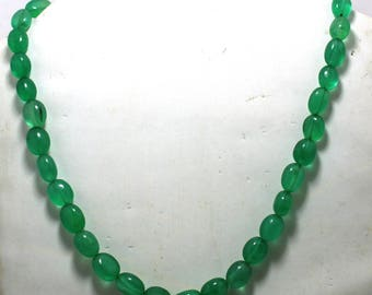 269.20cts Natural Quarts Fantastic Green Coloured  Size - 18 - Inch Green Coloured Quarts gemstone Amazing & beautifull  Green Quarts AA-32