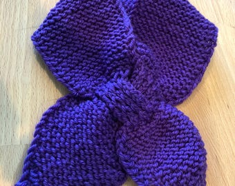 Purple Neck Scarf