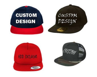 Cutomized Snapback/Fitted hats
