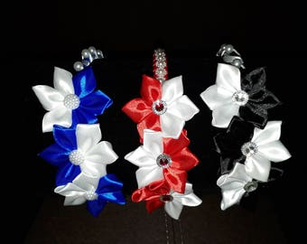 Handmade Kanzashi Flower Headbands