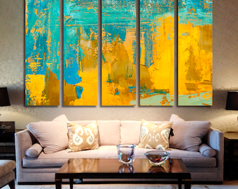 Abstract Oil Wall Art Oil Canvas Print Oil Large Wall Decor Oil Canvas Oil Poster Print Oil Home Decor Gift for She Artwork