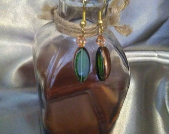 Golden Droplet Earrings