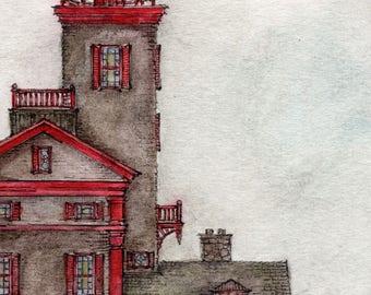 Henry's House Detail (Art Print)