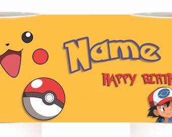 Happy Birthday Pokemon Mug