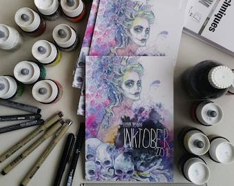 INKtober 2016 - art book