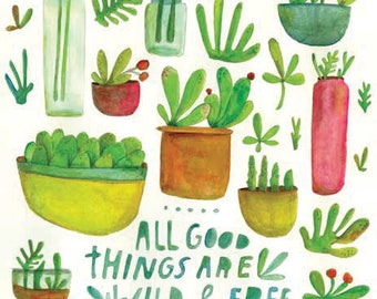 All Good Things Greeting Card