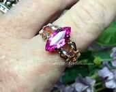 Pink Sapphire, Handmade W...