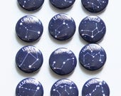 Zodiac Buttons / Pick Your Sign / Mix and Match