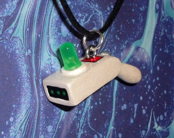 Rick and Morty - Portal Gun Necklace