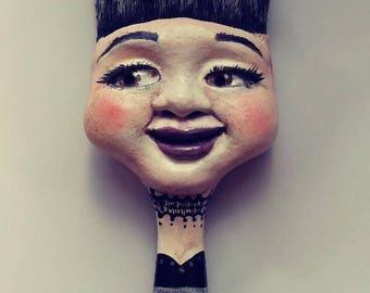 Altered Brush Art Doll Heather-MBC-Designs-OOAK-Pretty-Eyes