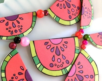 Watermelon Garland