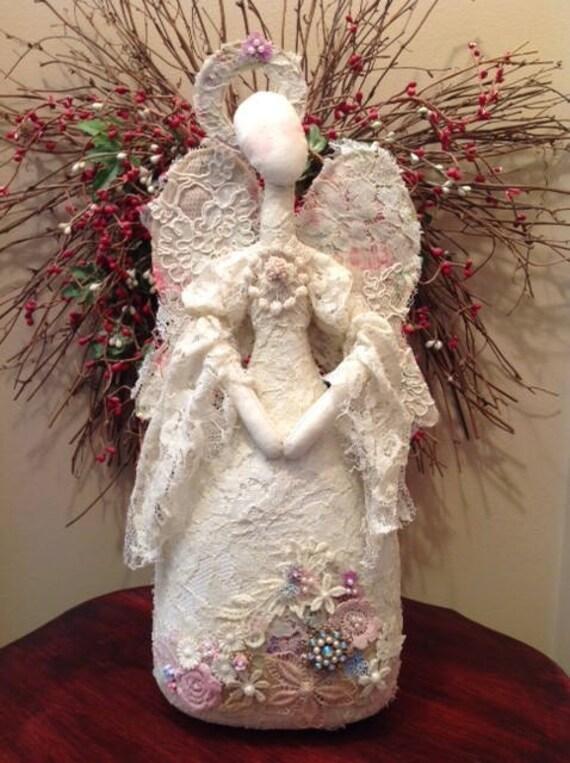 Cloth Doll E-Pattern Fabric Art Angel Doll