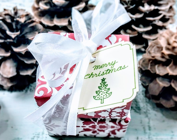 Red & White Soap Christmas Gift
