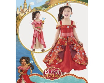 Disney Elena of Avalor Child's Costume Sewing Pattern, Simplicity 8479 Sewing Pattern, New UNCUT - Childs Size: 3-8