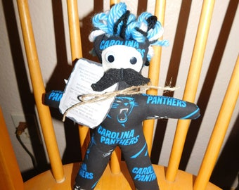 Panthers Dammit Doll Mustache Dammit Doll Football Birthday Wedding Bachelor Groom Dad Frustration Doll For Him Sports Game Day