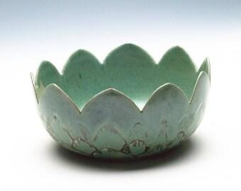 Golden Green Artichoke Bowl