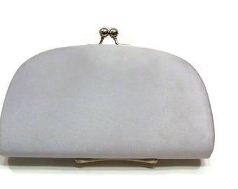 Vintage Silver Grey Clutch Bag Vintage Silver Clutch Bag Vintage Clutch Bags
