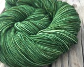 Hand Dyed Sock Yarn Everg...