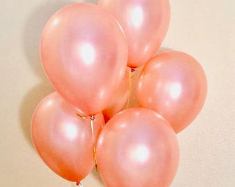 Rose Gold Latex Balloons, Rose Gold Wedding, Rose Gold Balloons, Rose Gold Party,Rose Gold Bride,Rose Gold Bachelorette Party Rose Gold Baby