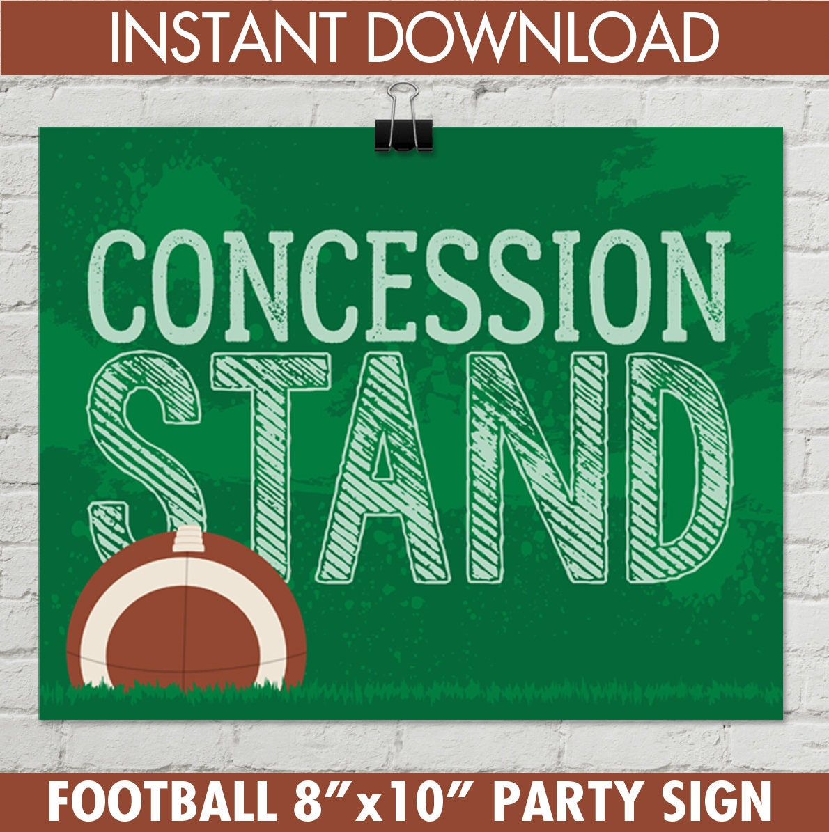 Concession Stand Printables Concessions Party Decorations |Concession Stand Signs