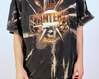 2003 Bleached Pantera Double Sided Graphic Band Tee 2XL Plus Size