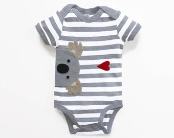 Baby Koala Bodysuit : Baby Boy,  Baby Boy Shower, New Baby Boy, Koala Baby Shower