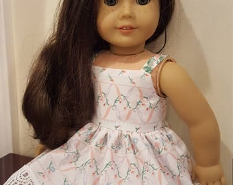 18 inch Doll Dress, Fits American Girl,