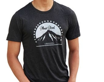 Mount Hood Oregon| Soft Lightweight T Shirt| Hometown tees| Unisex| Crew & V-neck| Destination t shirt| Mt.Hood| Travel tees.