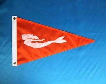 Orange Flag Etsy