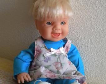 Vintage Doll Famosa Spain Winks! Wears Original Clothes