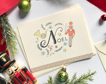 Christmas Greeting Cards with Noel - The Nutcracker - Boxed Christmas Cards - Holiday Cards Boxed Set