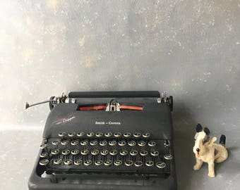 Clipper Typewriter, Smith Corona, Manual, portable, 40s, vintage