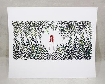 Wildfire - Limited Edition Hand-Pulled Screen Print