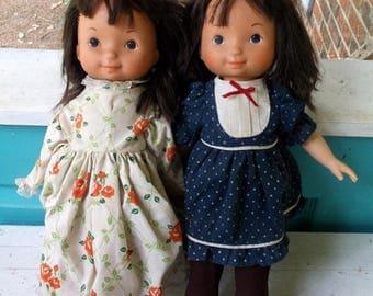 Set of 2 1978 Fisher Price My Friend Jenny dolls number 212