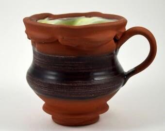 Coffee Mug/ Coffee Cup/ Latte Mug/ Ceramic Mug/ Ceramic Coffee Cup/ Terracotta Mug/ Terracotta Coffee Cup/ Teacup